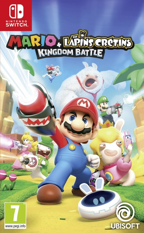 Mario + Rabbids Kingdom Battle – Nintendo Switch OCCASION