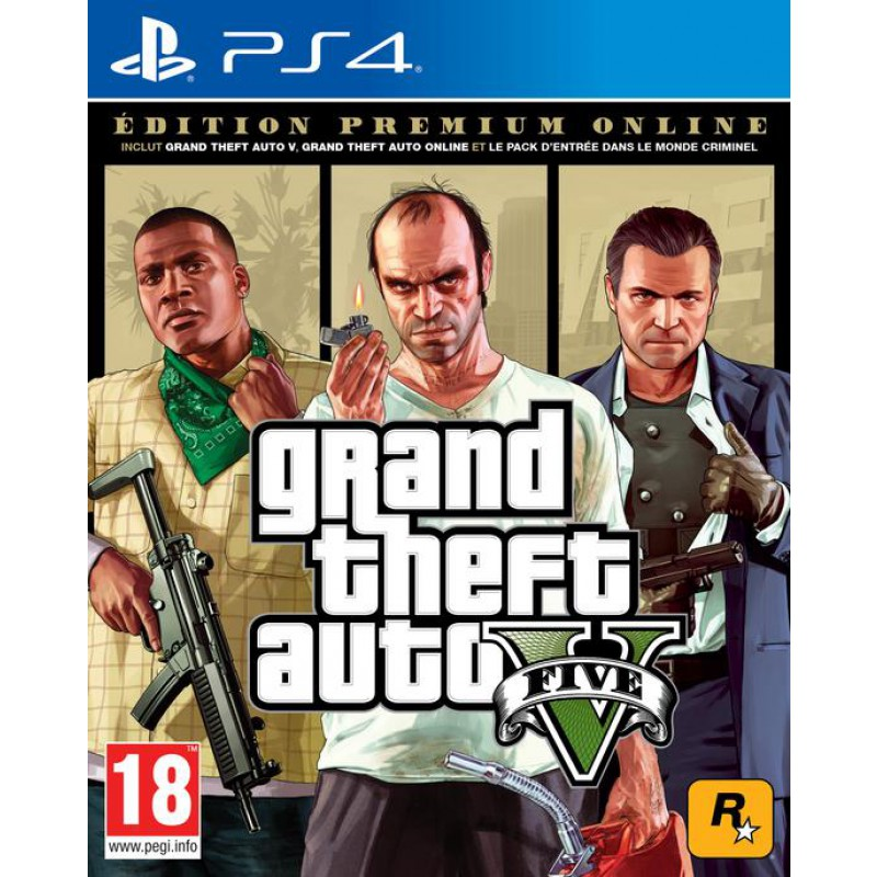GTA V – Premium Edition OnLine – PS4 – OCCASION