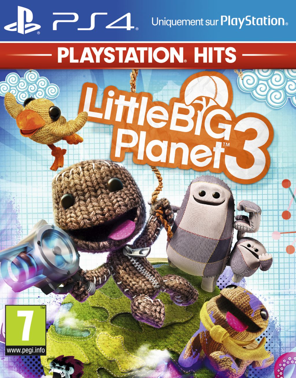 Little Big Planet 3 – PlayStation Hits – PS4 OCC BLISTER