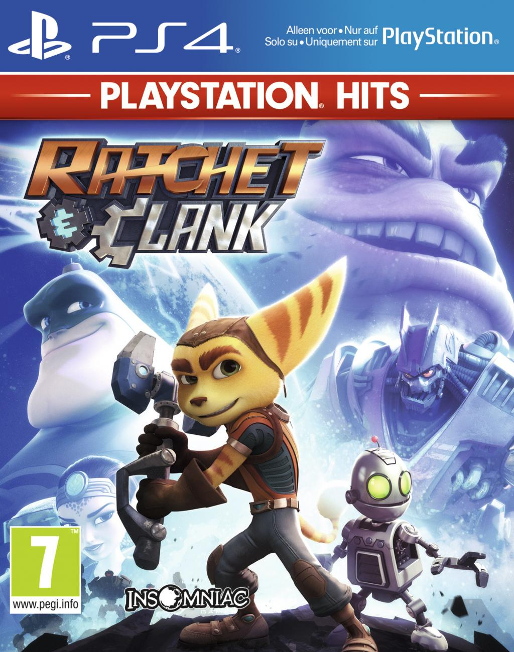 Ratchet & Clank – PlayStation Hits – PS4 – OCCASION – SOUS BLISTER