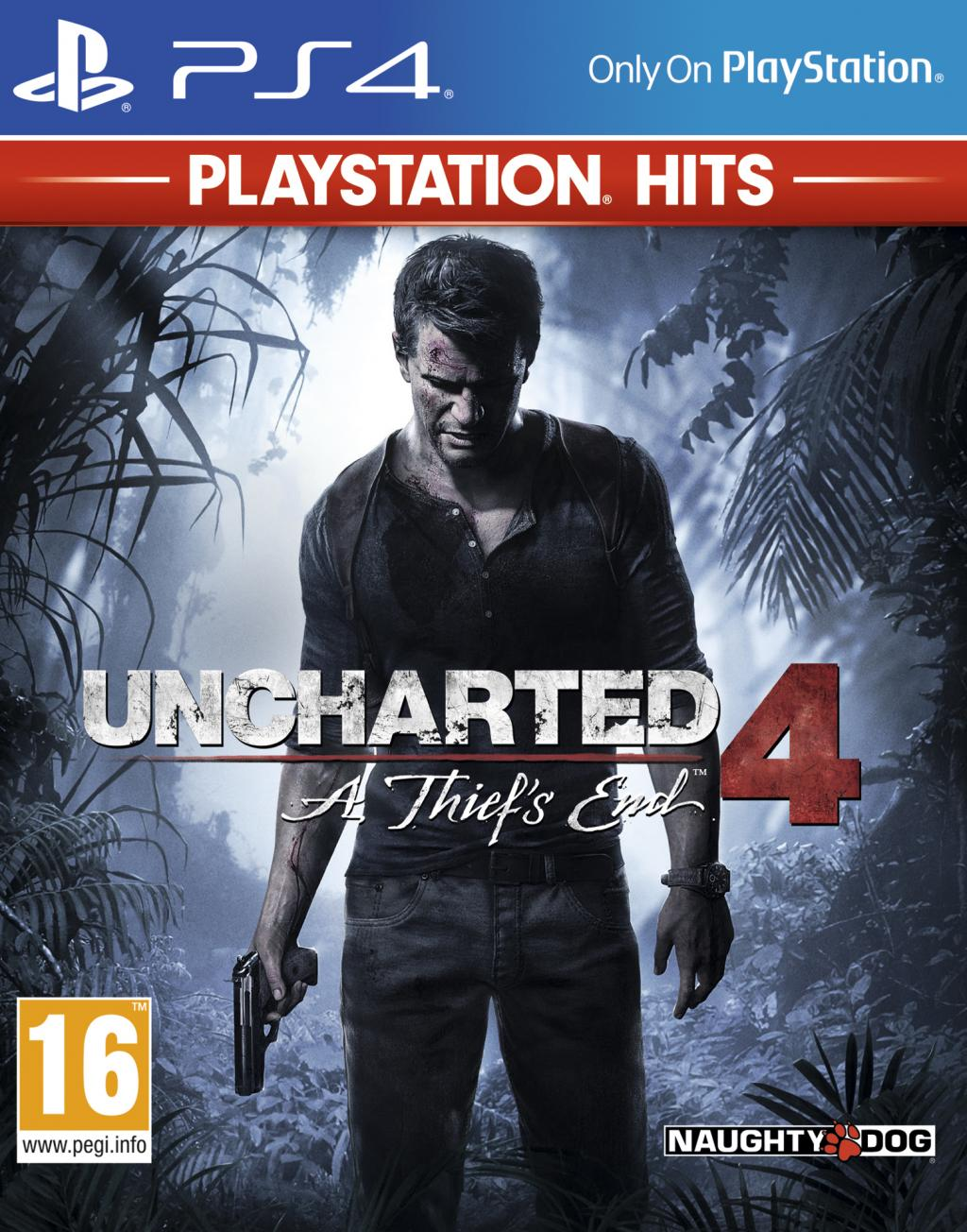 Uncharted 4 – PlayStation Hits – PS4 – OCCASION NEUF SOUS CELLOPHANE