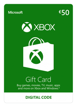 Carte Recharge XBOX Live 50€ – Commande en ligne