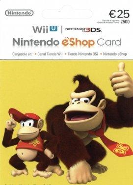 Carte Recharge Nintendo eshop 25€ – Commande en ligne