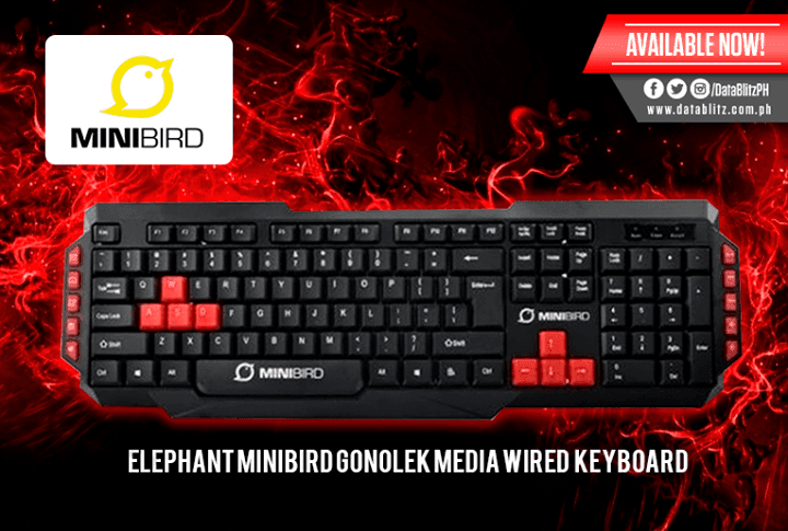 Clavier AZERTY BE – GAMING – MiniBird Gonolek Wired