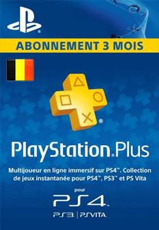Carte Sony Playstation Plus Abonnement 3 mois – Commande en ligne