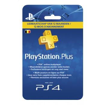 Carte Sony Playstation Plus Abonnement 12 mois – Commande en ligne