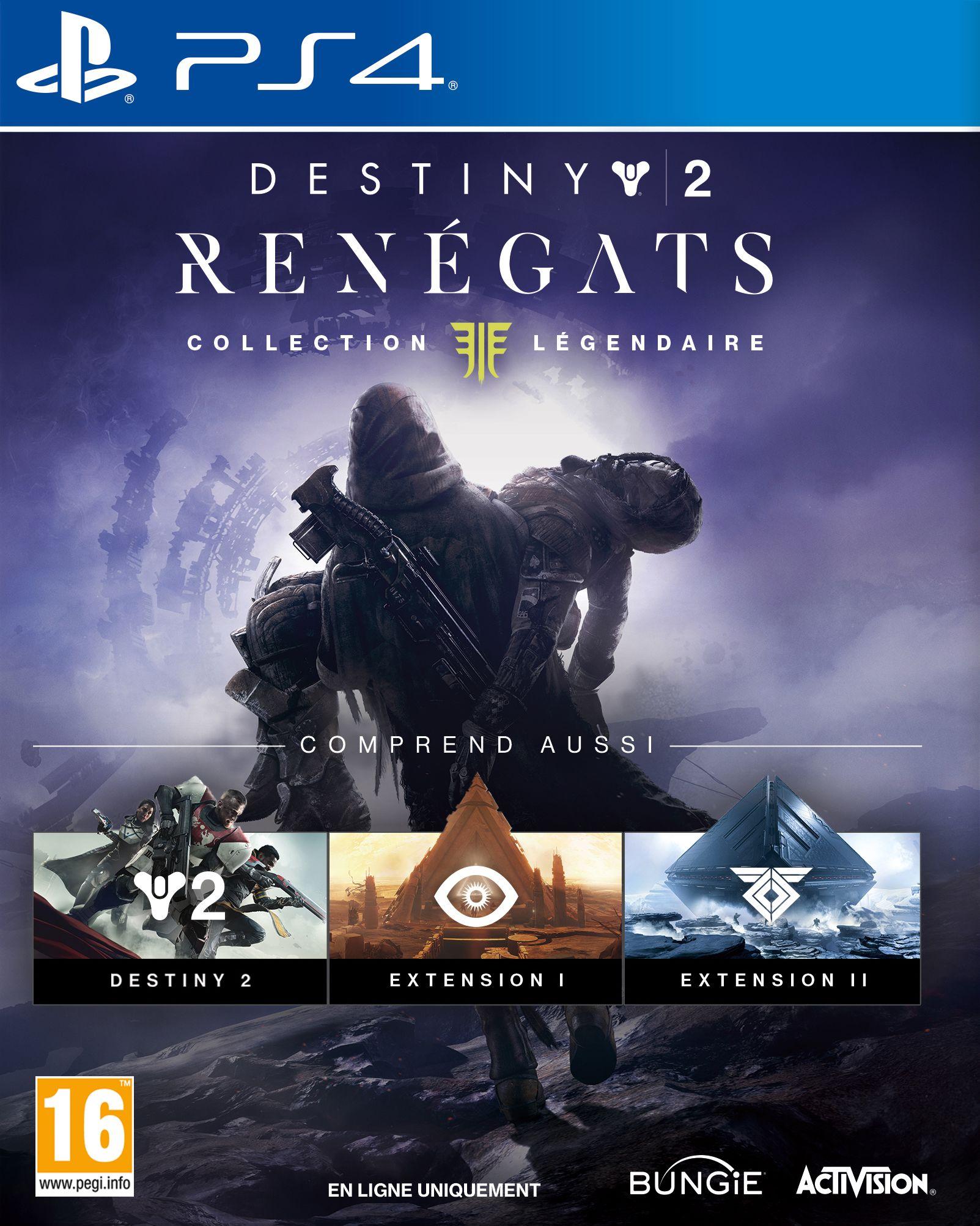 Destiny Renégats Collection Légendaire – PS4 – OCCASION