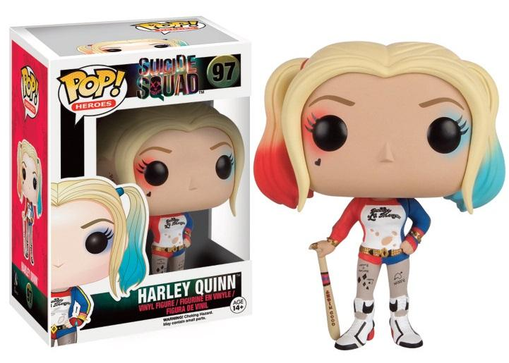 POP! Suicide Squad N° 97 – Harley Quinn With Mallet