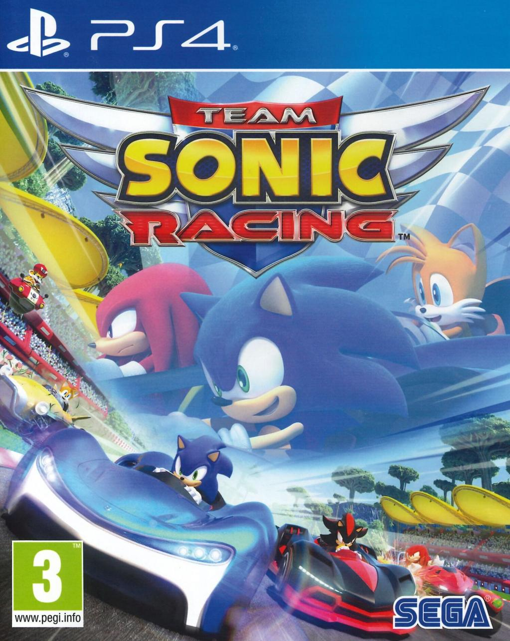 Team Sonic Racing – PS4 – OCCASION