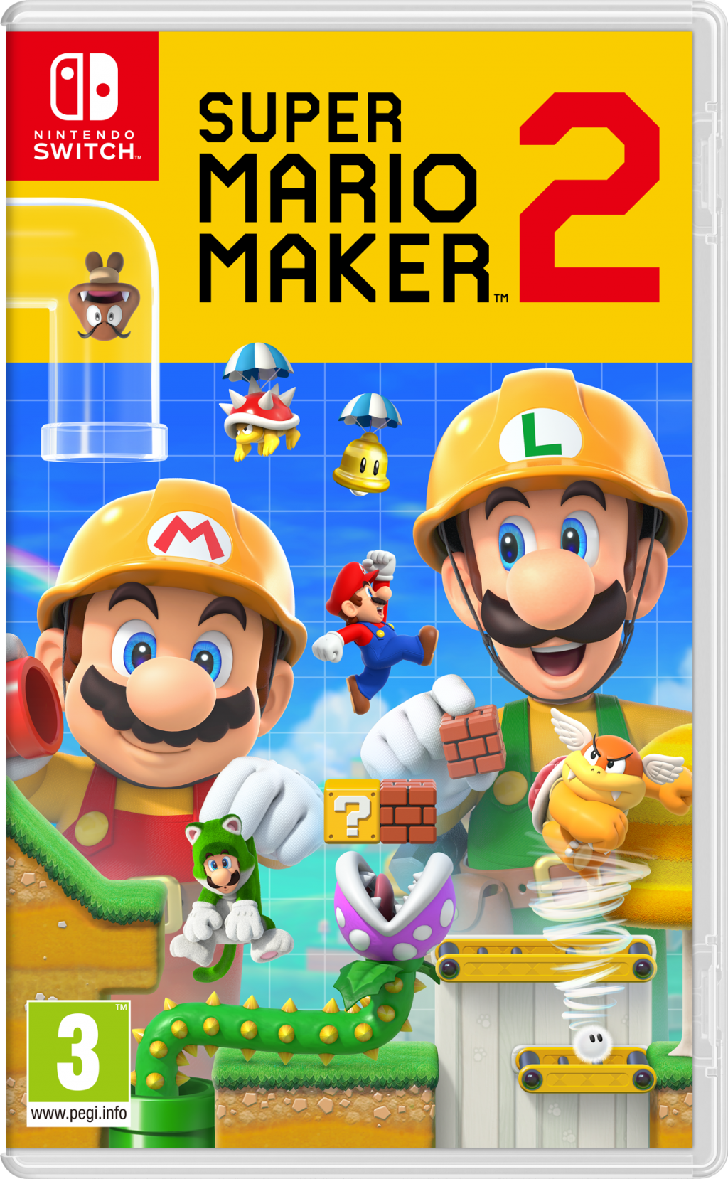 Super Mario Maker 2 – Nintendo Switch – OCCASION – EN LOOSE SANS BOITE