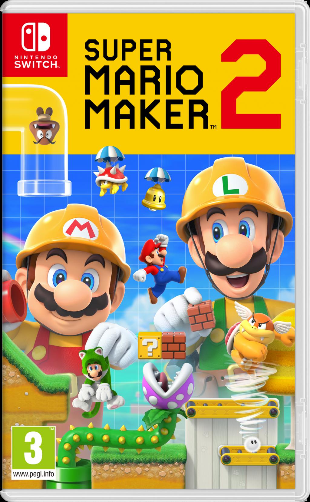 Super Mario Maker 2 – Nintendo Switch – OCCASION – EN LOOSE SANS BOITE