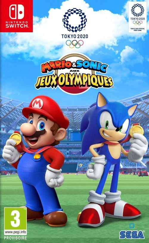 Mario & Sonic aux Jeux Olympiques Tokyo 2020 – Nintendo Switch – OCCASION