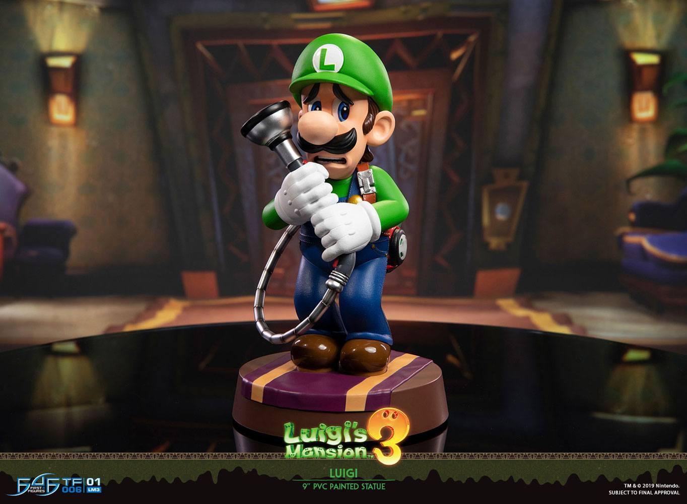 NINTENDO – Luigi's Mansion 3 – Luigi Standard Edition – Figurine 23cm