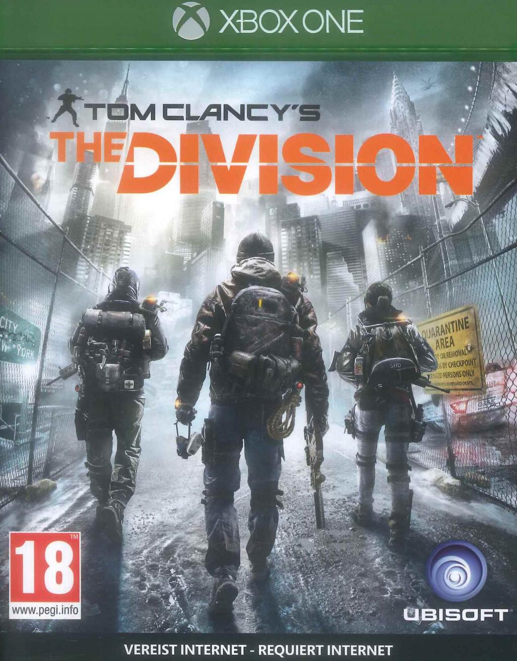 THE DIVISION – Xbox One – OCCASION