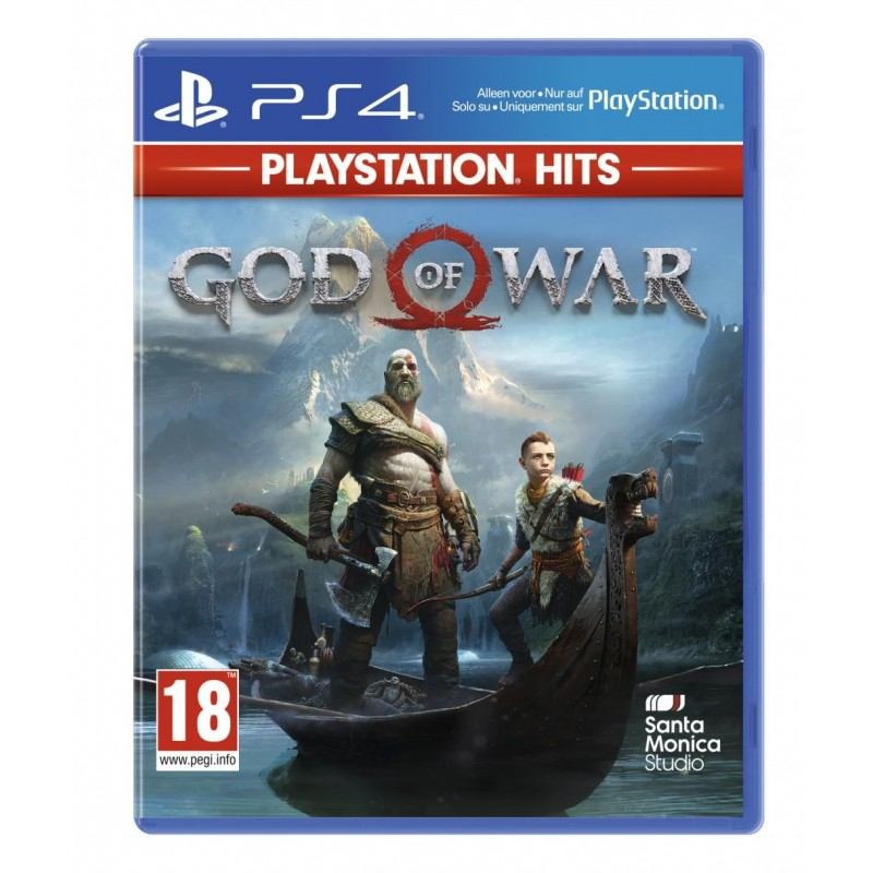 God of War – PS4 PLAYSTATION HITS – OCCASION SOUS BLISTER