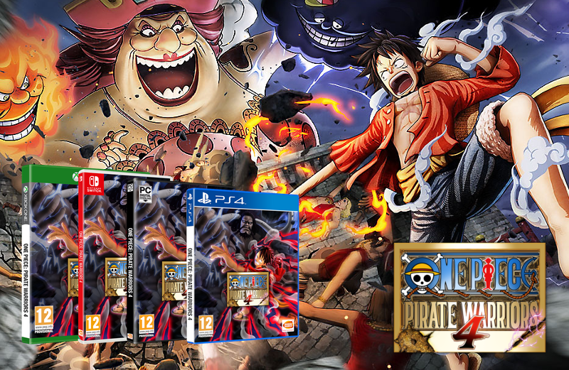 One Piece Warriors 4 – ARTICLE DE PRESENTATION –
