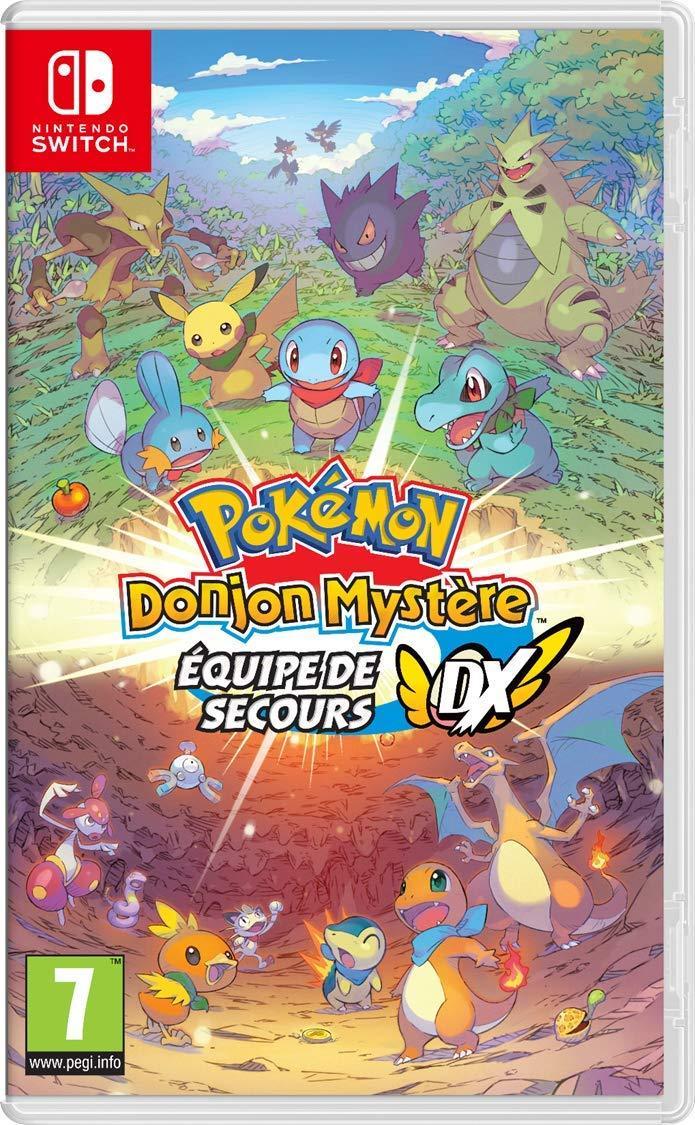 SWITCH – Pokémon Donjon Mystère : Equipe de secours DX – OCCASION