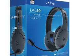 Official Playstation Wired Headset LVL50 PS4 Black