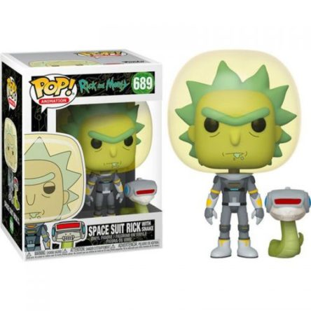POP! Rick & Morty – Rick (in Space Suit) N°689