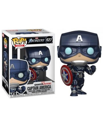 POP! Marvel Avengers N°627 – Captain America GamerVerse