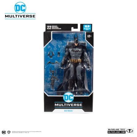 MARVEL DC COMICS – Batman Arkham Asylum – Batman – Figurine articulée 18cm