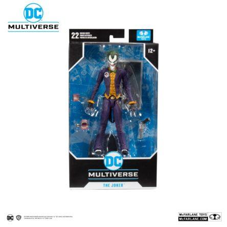 MARVEL DC COMICS – Batman Arkham Asylum – Joker – Figurine articulée 18cm