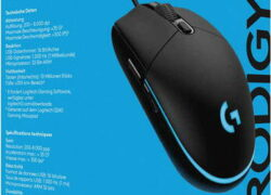 Logitech G203 Prodigy souris gaming 8000 DPI – GAMING