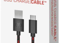 Nintendo Switch / Switch Lite – Snakebyte Charging Cable USB C – 2,5 m + Adaptateur Coudé à 90°